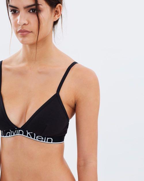 927e61dadb2 Calvin Klein ID cotton triangle bralette