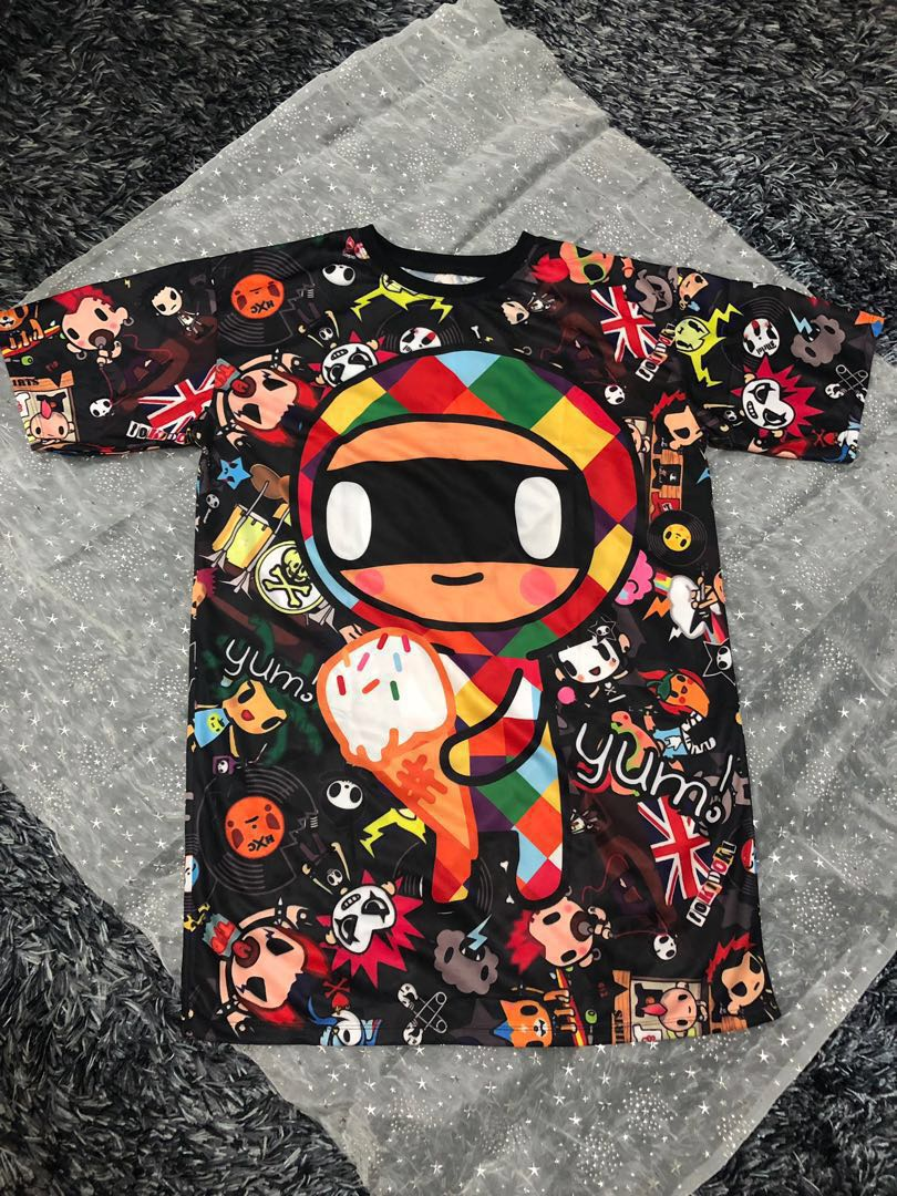 e673882c29b Cartoon dri fit Tshirt dress - Tokidoki
