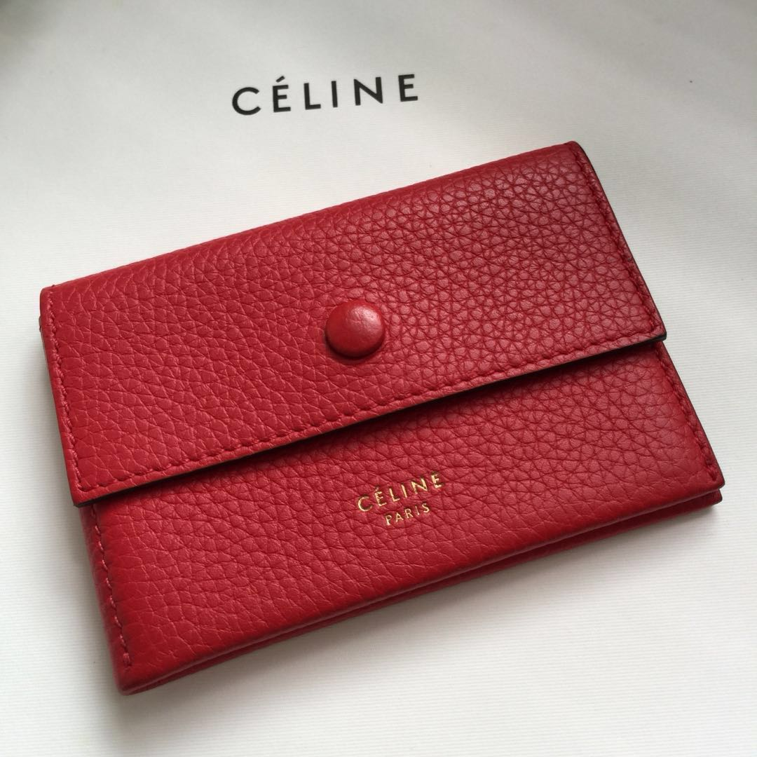 37c6da6ca34 Celine Card Holder, Women's Fashion, Bags & Wallets on Carousell