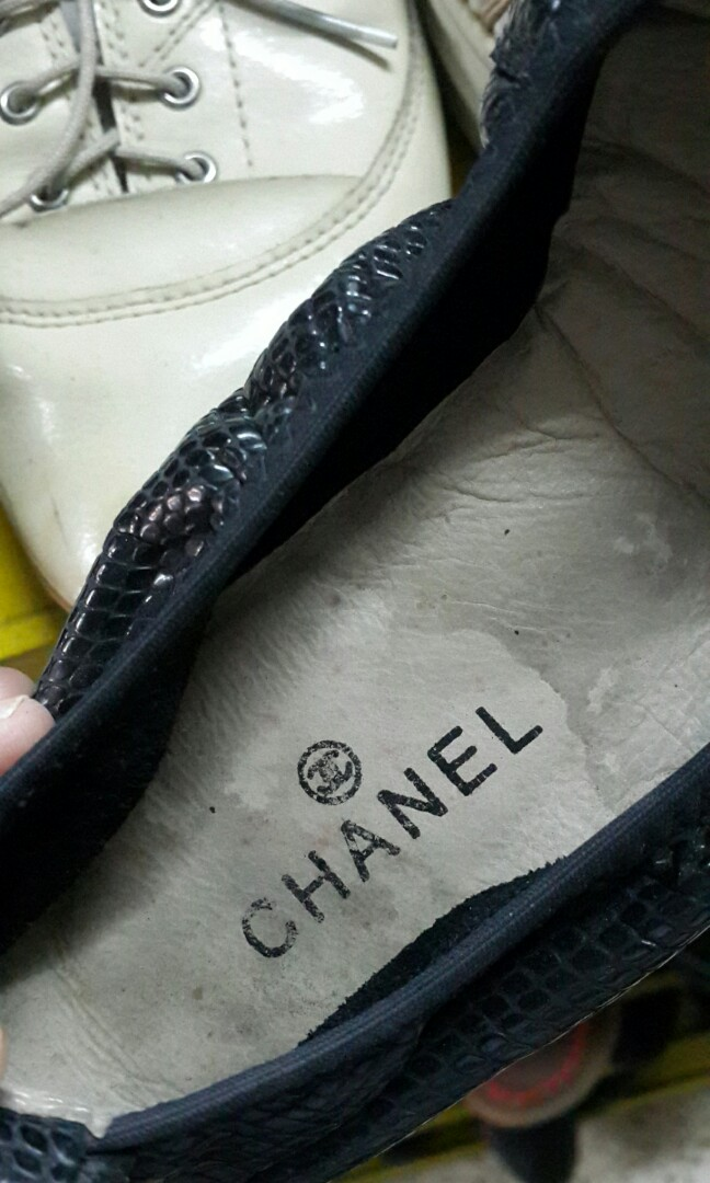 Chanel Bow flat shoes 9fba64322c