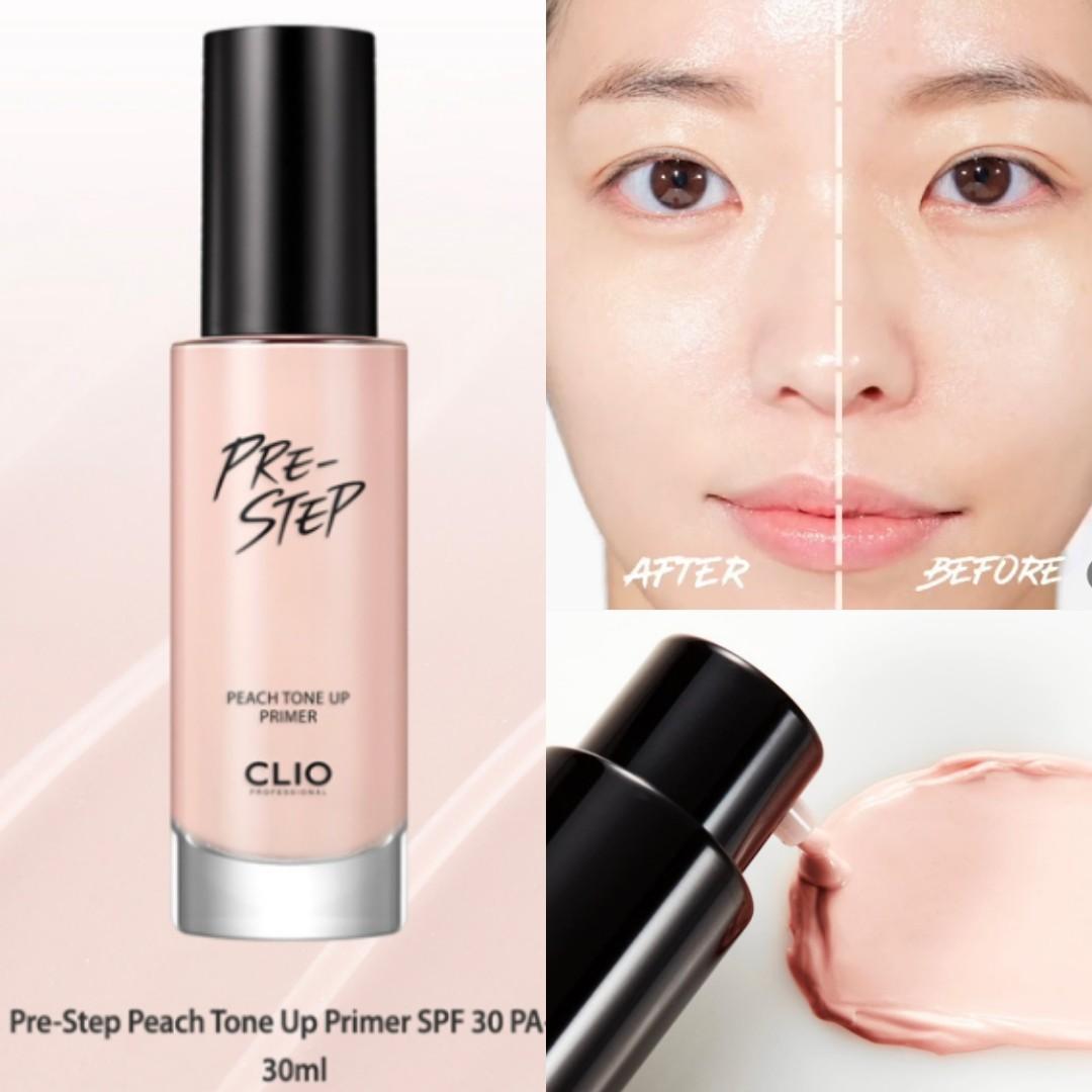 CLIO Pre Step Peach Tone Up Primer SPF30 PA++ 30ml