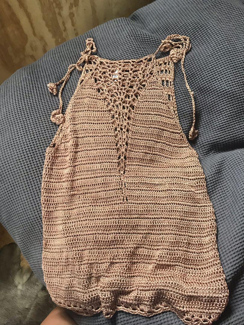 Crochet singlet