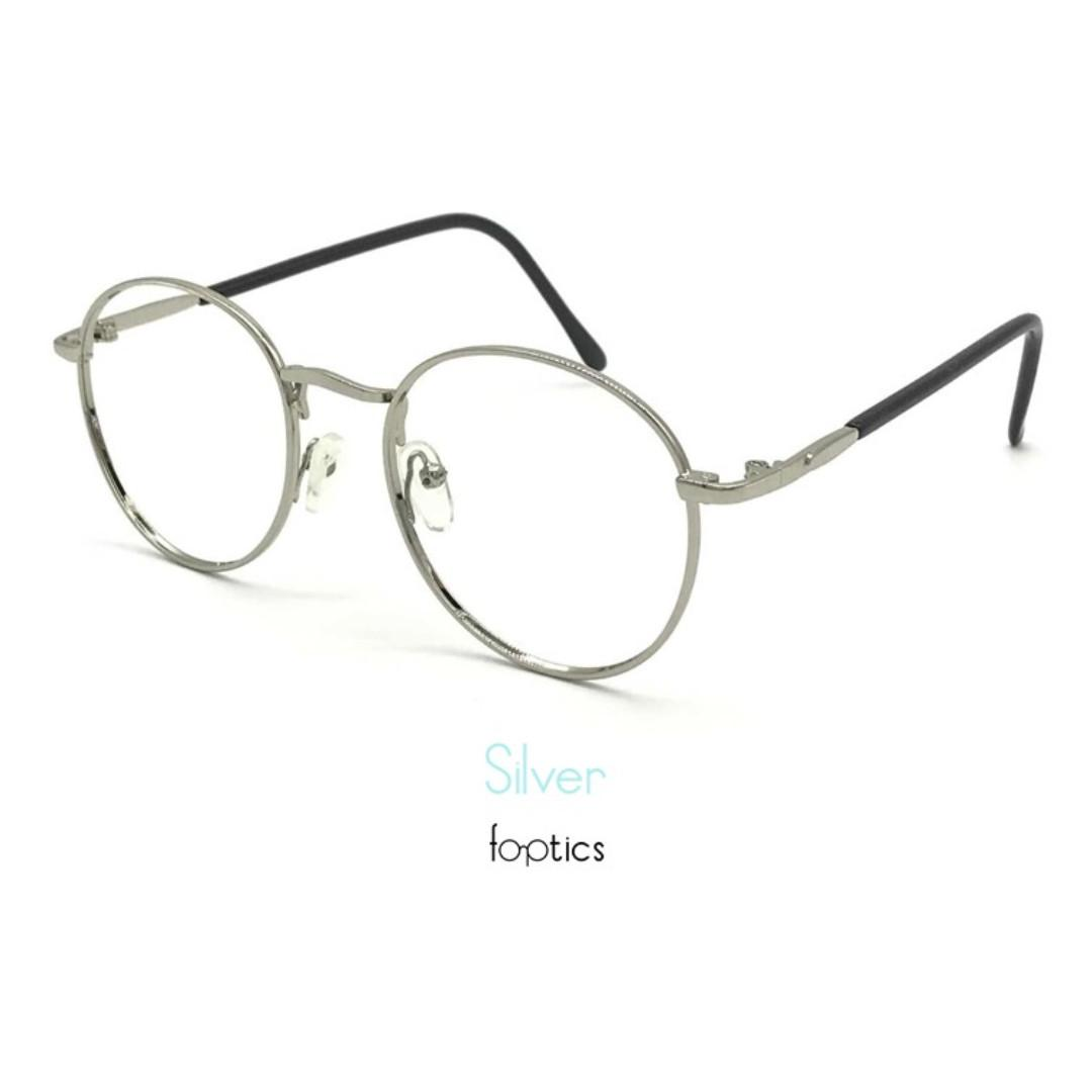 Degree Glasses & Spectacles – Lit 2 in Silver - foptics Singapore