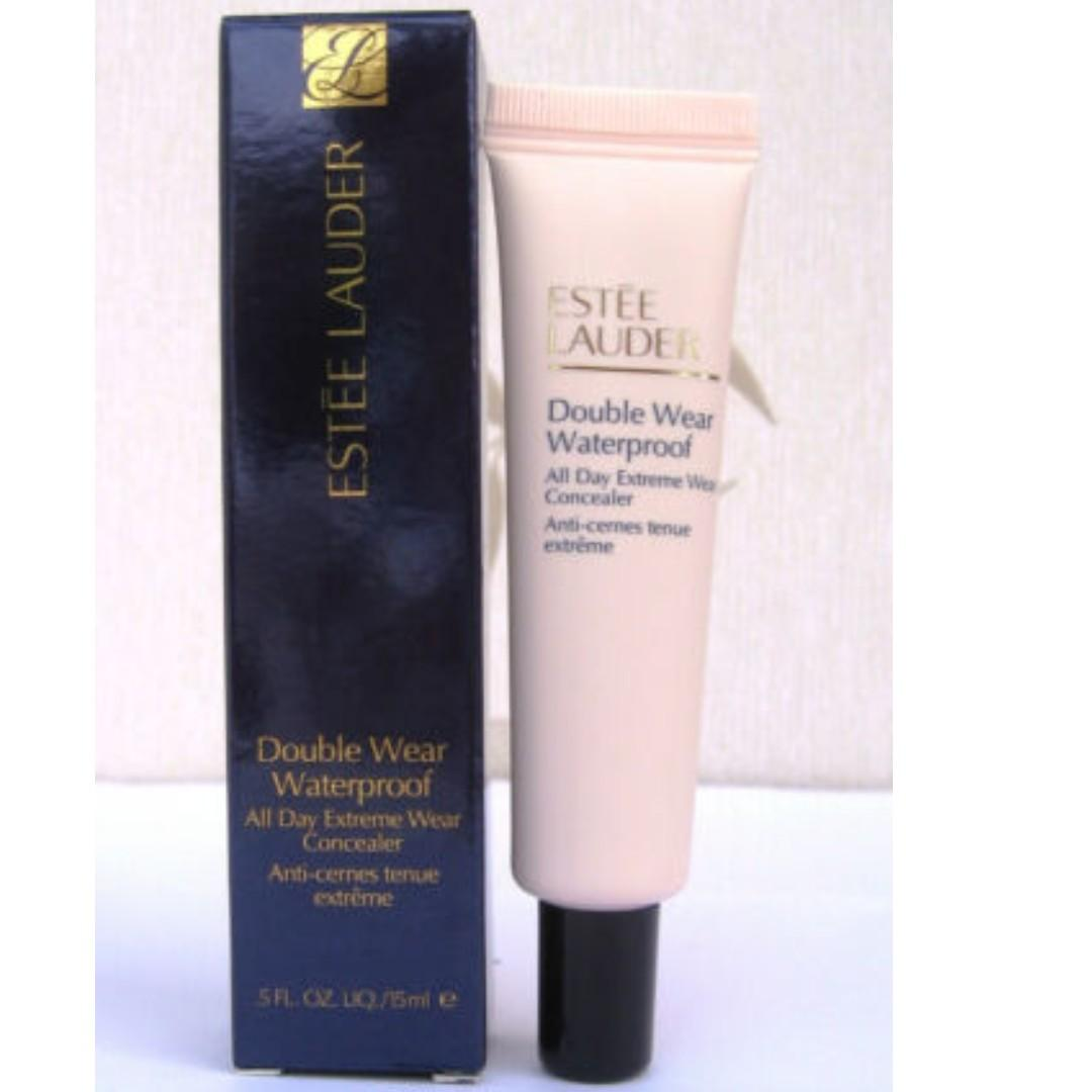 Estée Lauder Double Wear Waterproof All Day Extreme Concealer 1C Light Cool 15ml. BRAND NEW & AUTHENIC [PRICE IS FIRM, NO SWAPS]