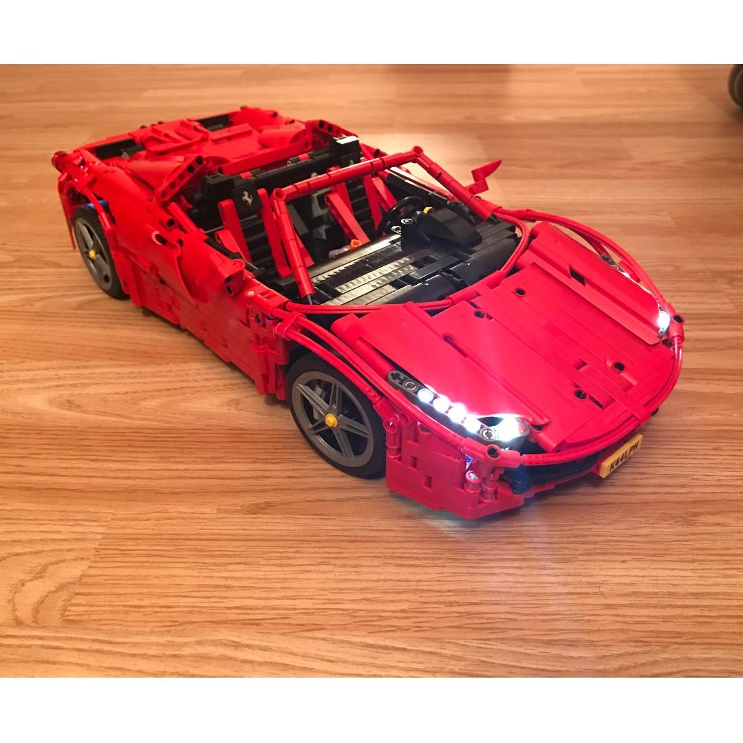 Ferrari 458 Spider Moc 1767 By Brunojj1 Lego Mixed Lepin Technic Fully Remote Control Toys Games Bricks Figurines On Carousell