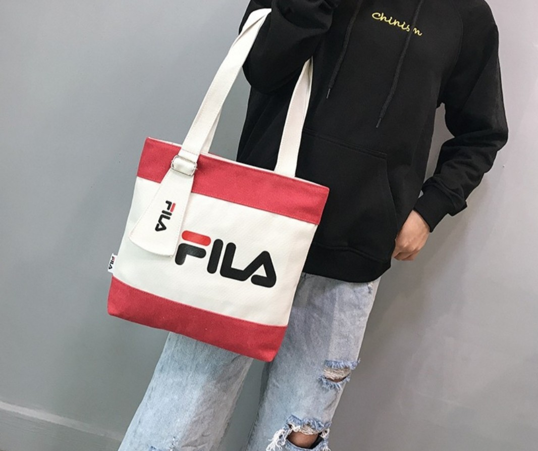 fc215609465f3 Fila Canvas Tote Bag (Reduce to Clear)