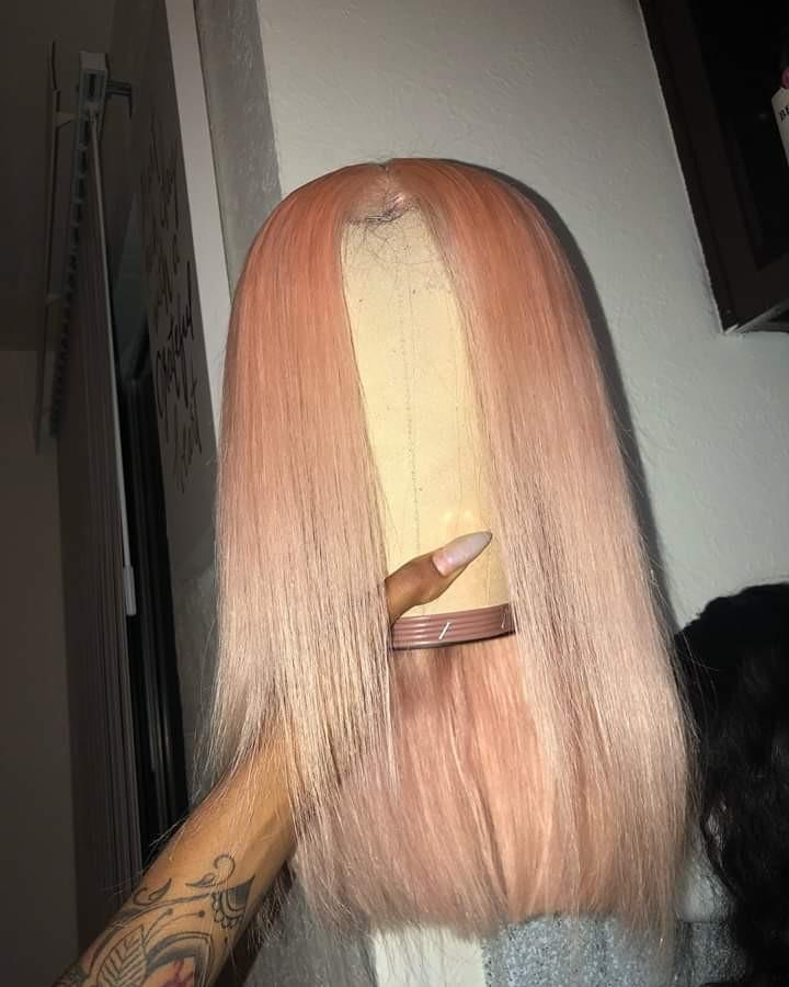 Full Lace Pre-Plucked 100% Human Hair Wigs