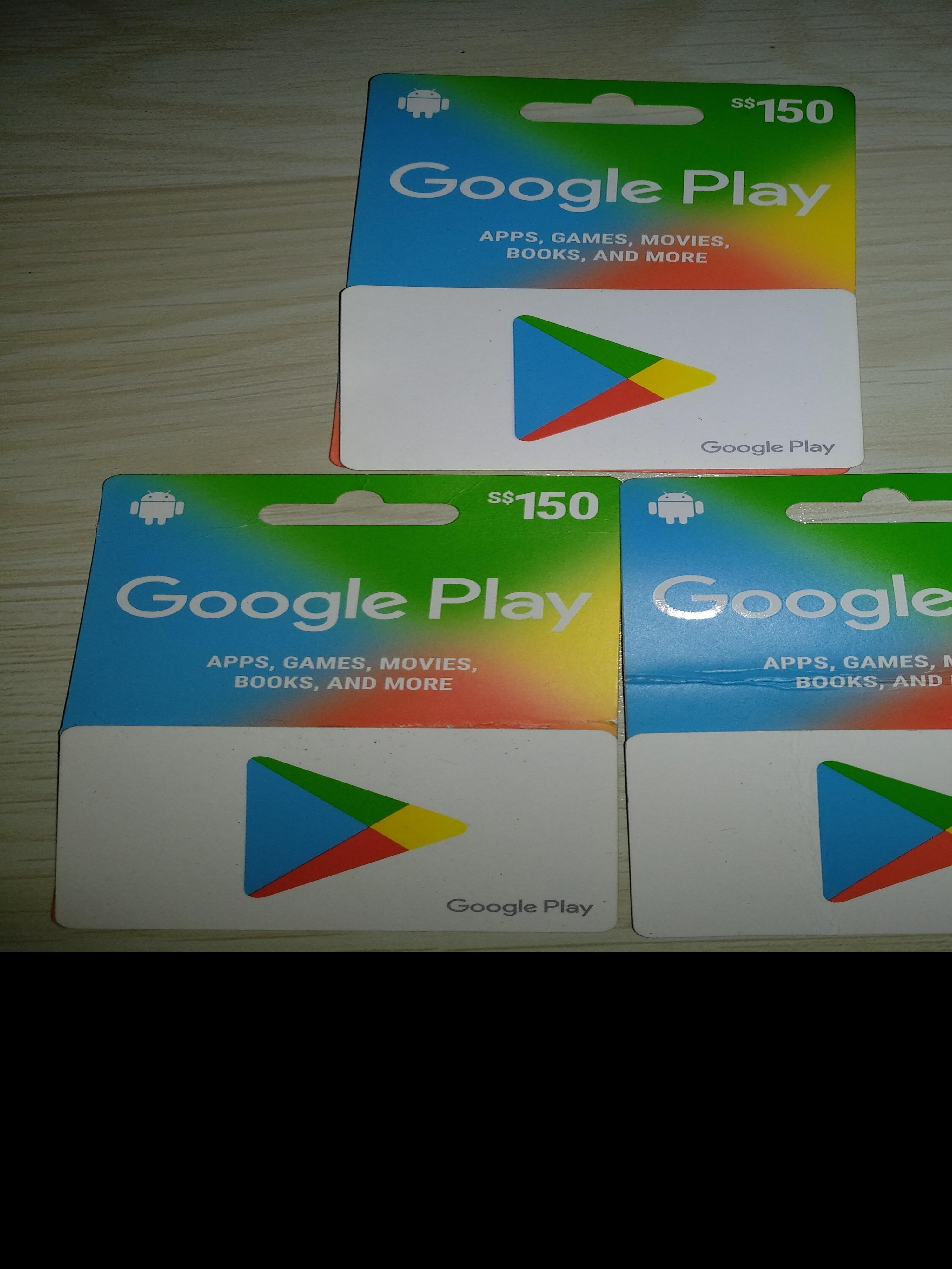 Google apps store gift card for all gammer, Everything Else