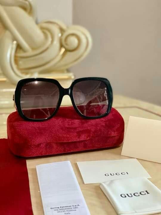 0c5b46e6d9d 🔝G Premium CLEARANCE SALE Gucci Sunglasses Black Red Logo GG ...