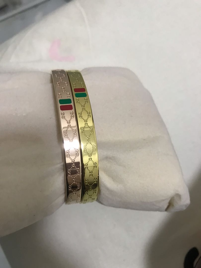 b8573e568 Gucci bracelet for men, Men's Fashion, Accessories, Others on Carousell
