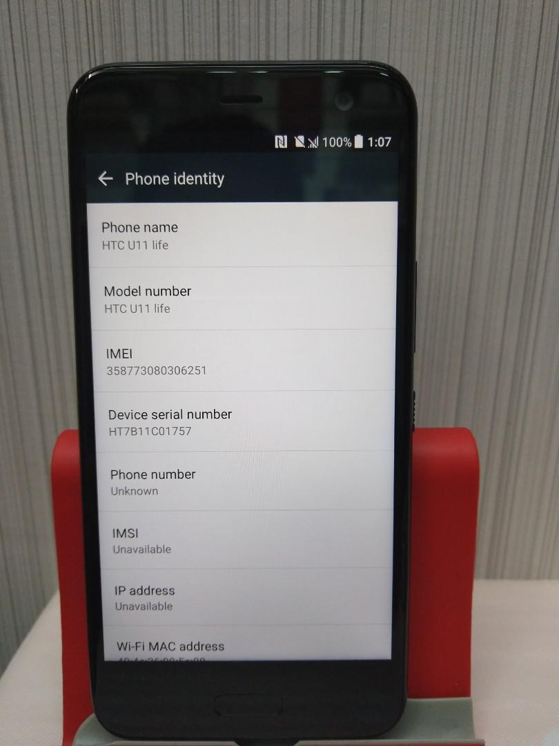 HTC U11 LIFE 32GB 3GB RAM WITH BOX AND ACCESSORIES+FREE SCREEN PROTECTOR