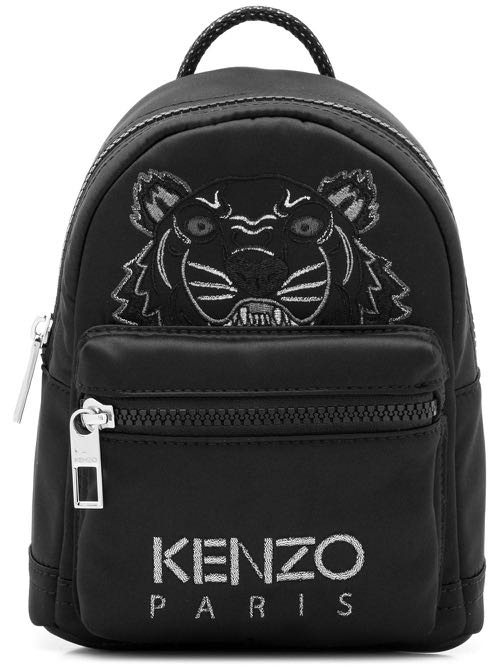 9cac0f7d Kenzo Black Tiger Logo Mini Backpack/Crossbody, Luxury, Bags & Wallets,  Backpacks on Carousell
