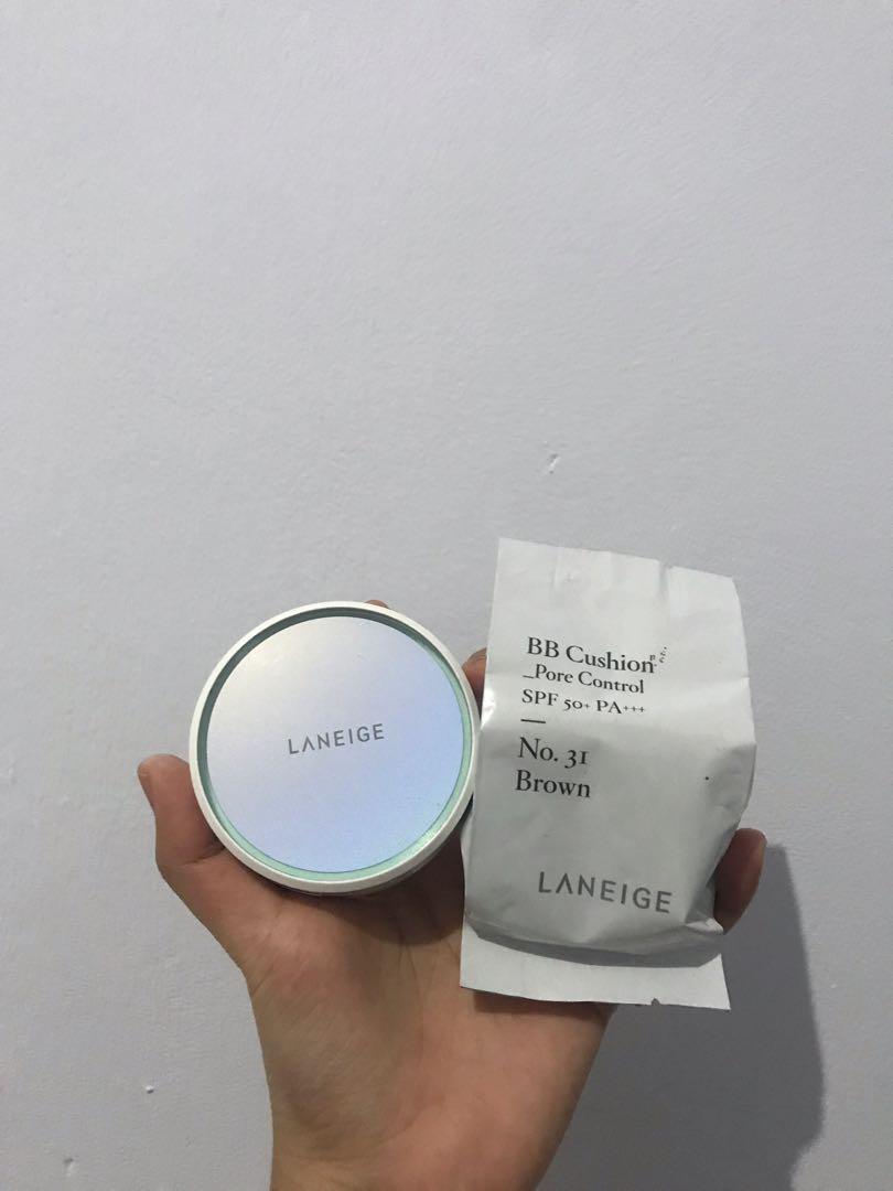 Laneige Bb Cushion Pore Control Shade 31 Brown Refill