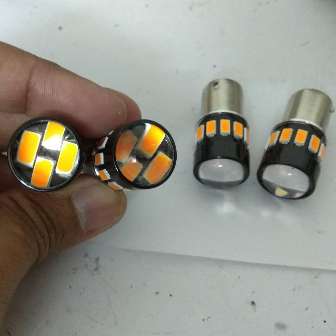 LED Amber Yellow Signal Light