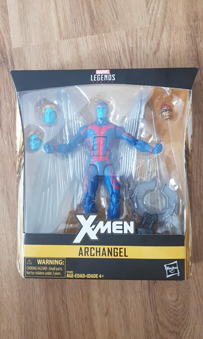 Marvel Legends Archangel Apocalypse BAF Wave X-Men Loose Complete