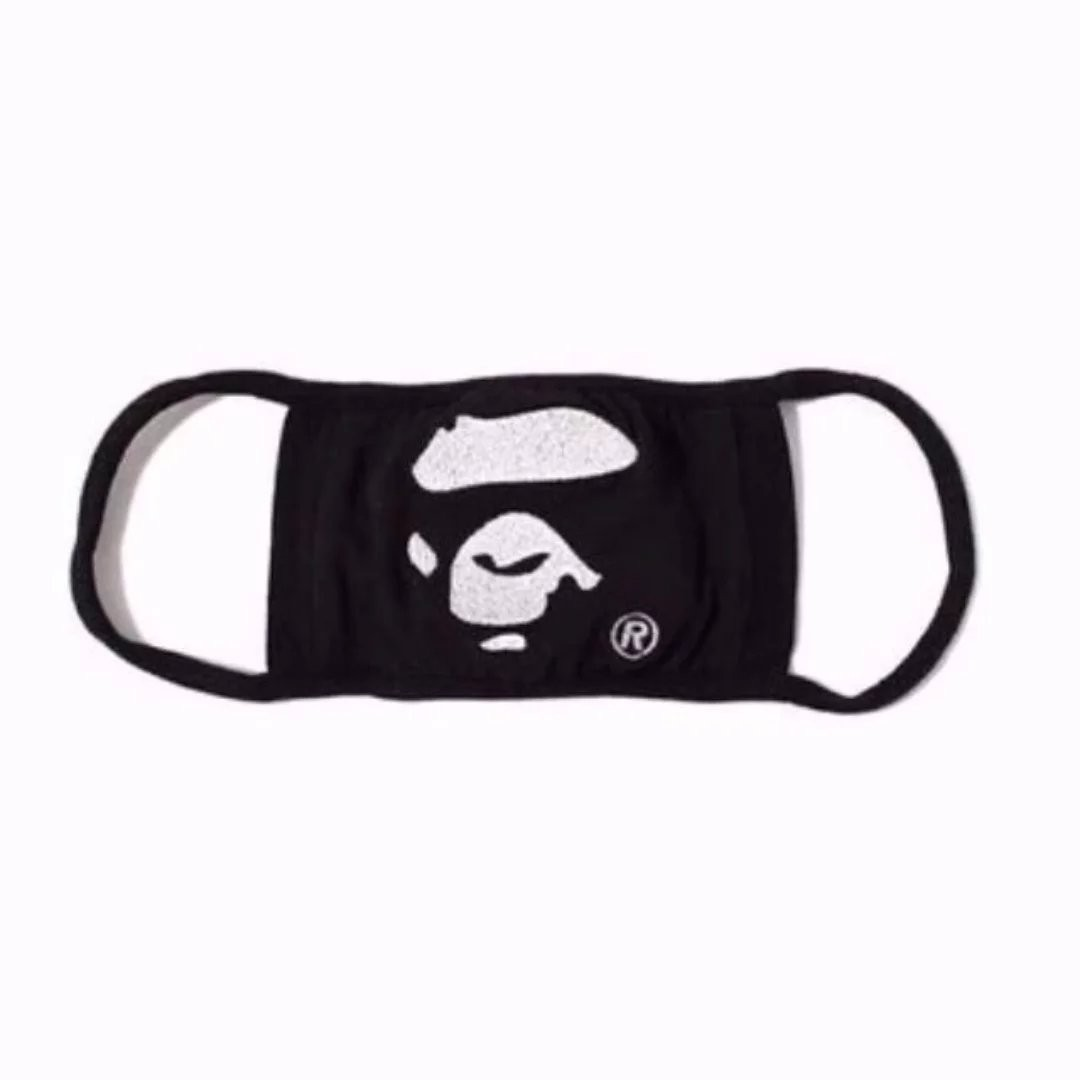 9f27f961 Bathing Ape Face Black Dust Mask, Men's Fashion, Accessories, Others ...