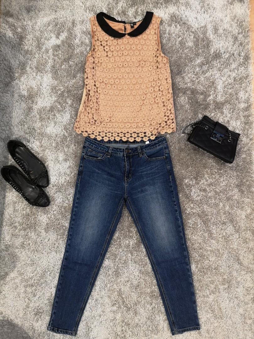 5ec863ba62d2c MEMO Ankle Skinny Jeans, Women's Fashion, Clothes, Pants, Jeans ...