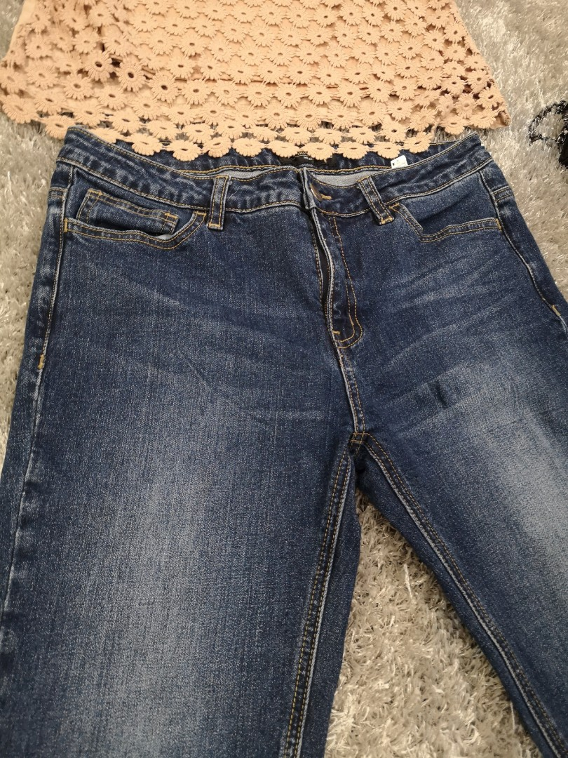 e46d1c31c3def MEMO Ankle Skinny Jeans, Women's Fashion, Clothes, Pants, Jeans & Shorts on  Carousell