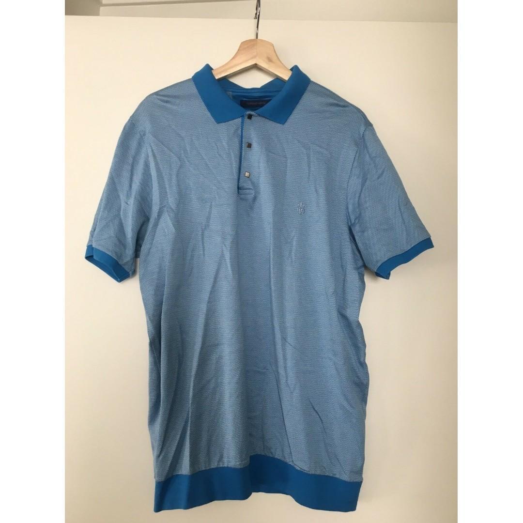 Men's Bulk Polo T-shirts by WITCHERY + ROMANO BOTTA - Sz L