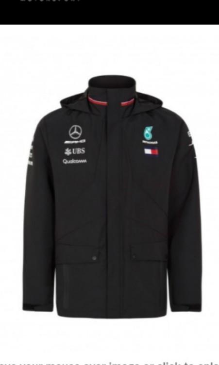 12b0fc6d23e Mercedes AMG Petronas team rain jacket raincoats