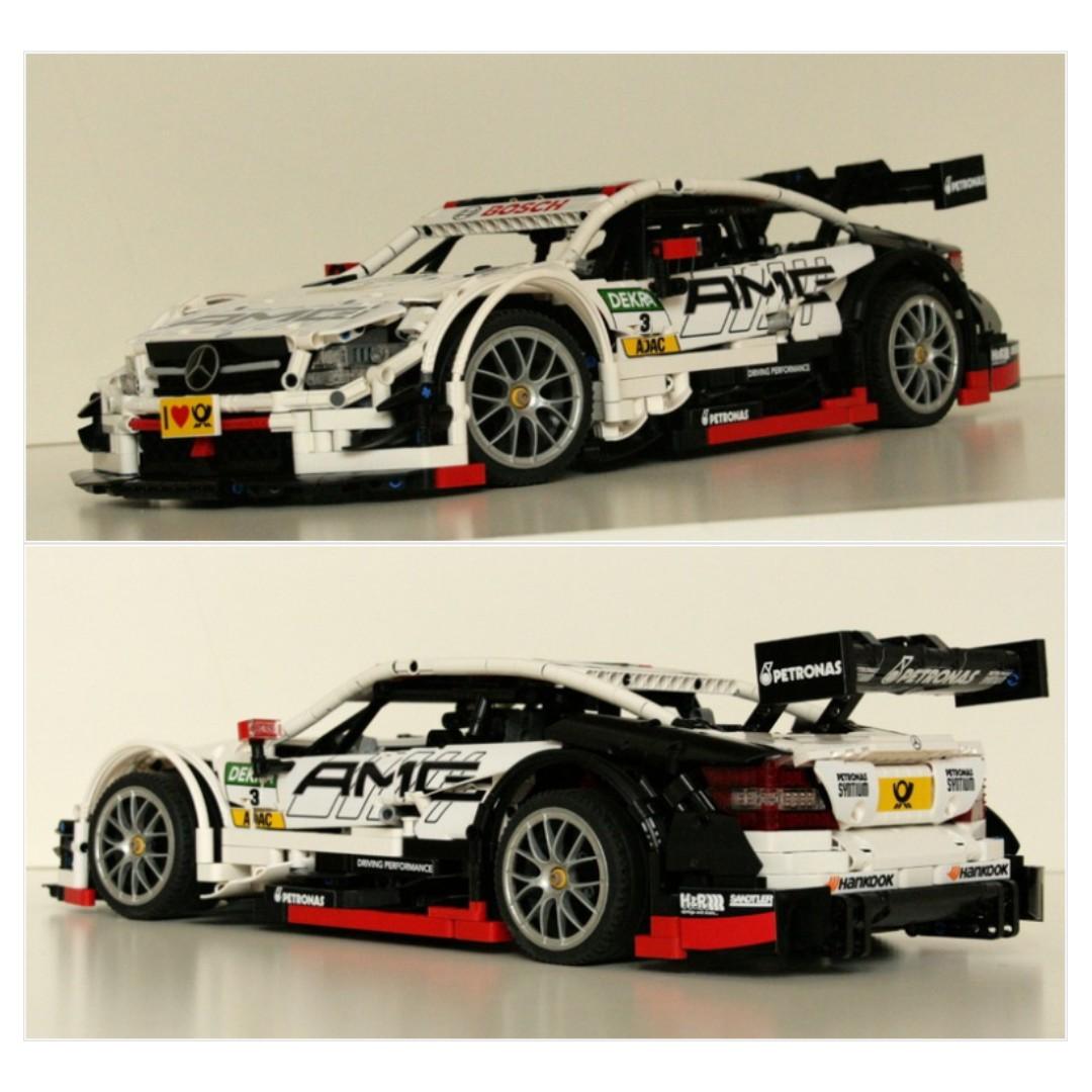 Mercedes Benz Amg C63 Dtm Moc 6687 By Brunojj1 Lego Mixed Lepin