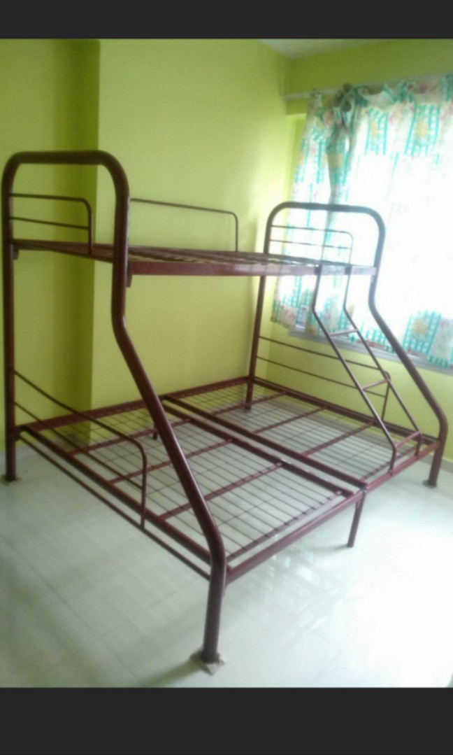 Metal Bunk Bed Frame Fixed Price 80