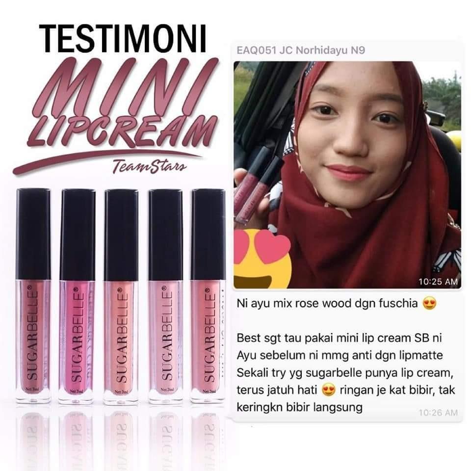 Mini lip cream