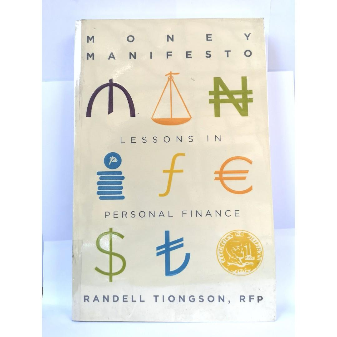 Money Manifesto: Lessons in Personal Finance by Randell Tiongson