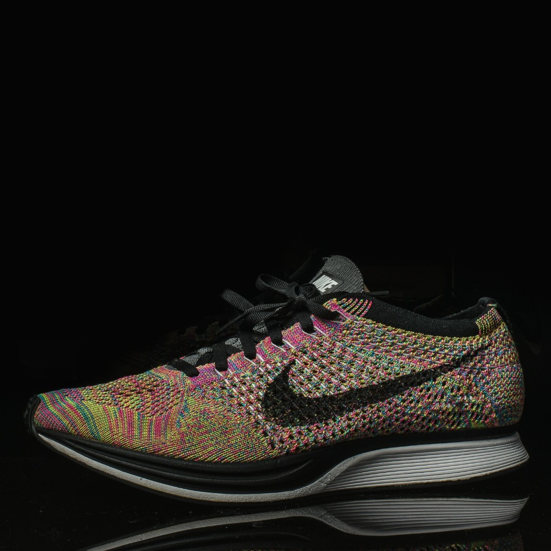 bf8a7a477fdb Nike Flyknit Racer Multicolor 3.0 US 8