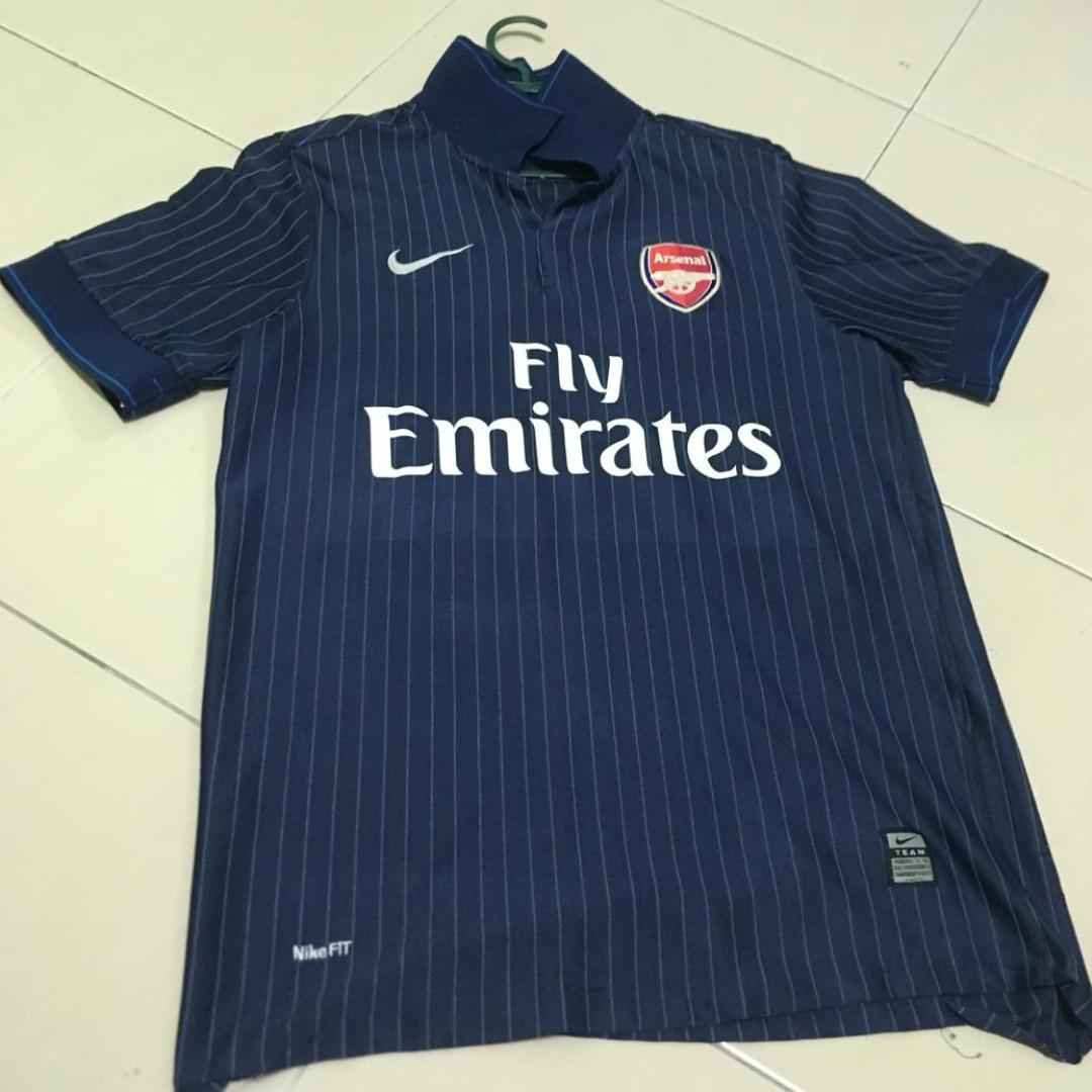 reputable site 49b0e ea3b7 Nike Jersi Arsenal Away / Arsenal Away Jersey 2009 (Navy blue)