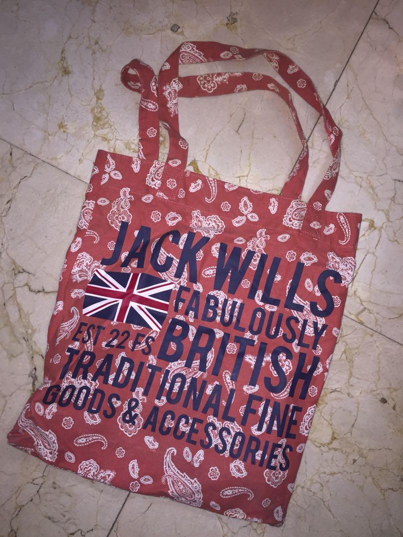 {NO EX} JACK WILLS TOTE BAG (絕版)