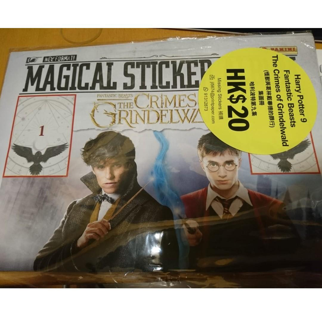 Harry Potter 111 : The Crimes of Grindelwald No Panini Fantastic Beasts