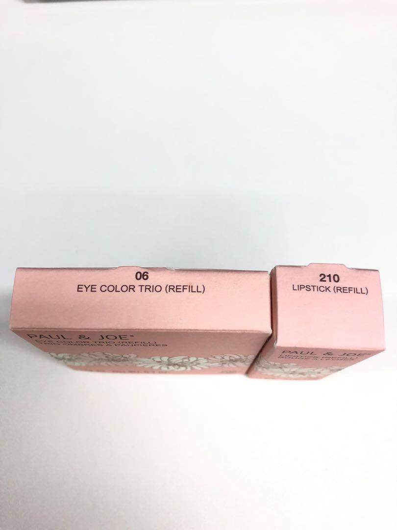 💯正貨全新Paul & Joe eye shadow lip stick refill 眼影及唇膏補充裝