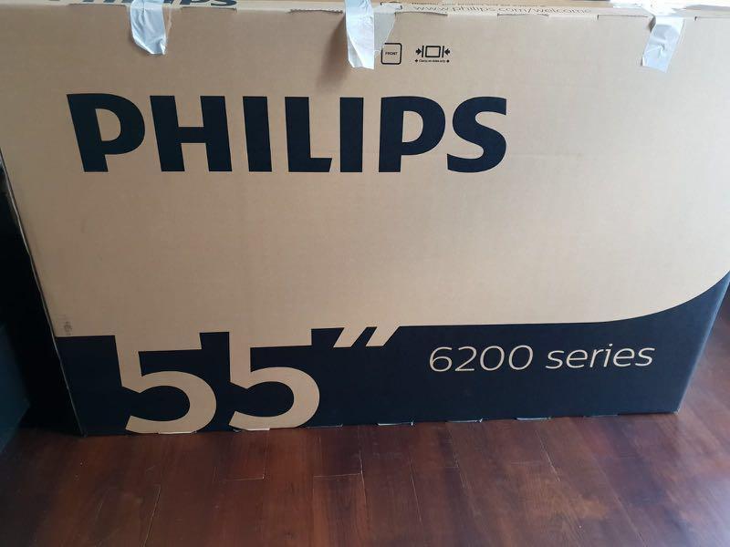 "Philips 55"" ULTRA HD SMART LED TV ( 55PUT6233), Home"