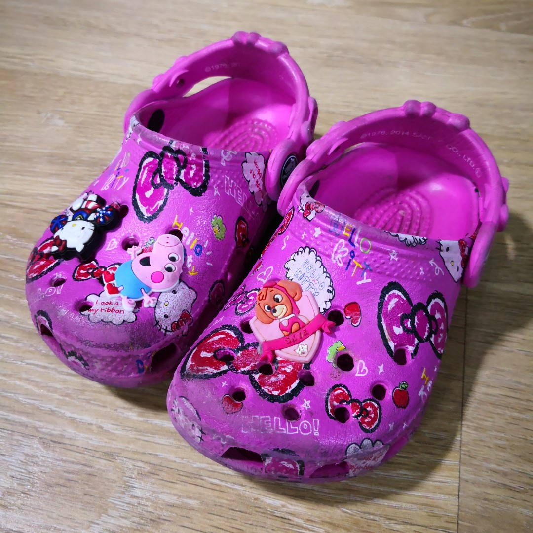 dd1c1ec072017d Pink Crocs Slip-on Sandals for Girls 1yr and Up