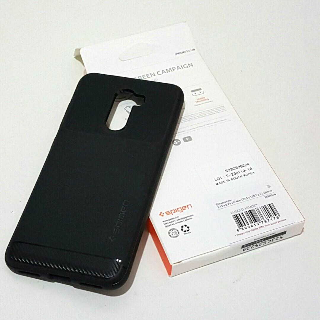 outlet store e2329 d43d1 Pocophone F1 Spigen Rugged Armor Protector Case Xiaomi