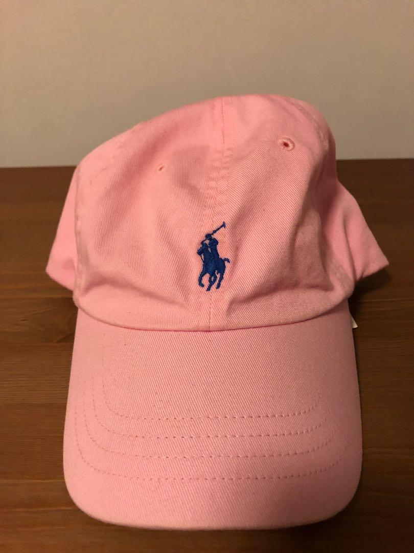 0f25a2c6 Polo Ralph Lauren Cap Pink, Men's Fashion, Accessories, Caps & Hats ...