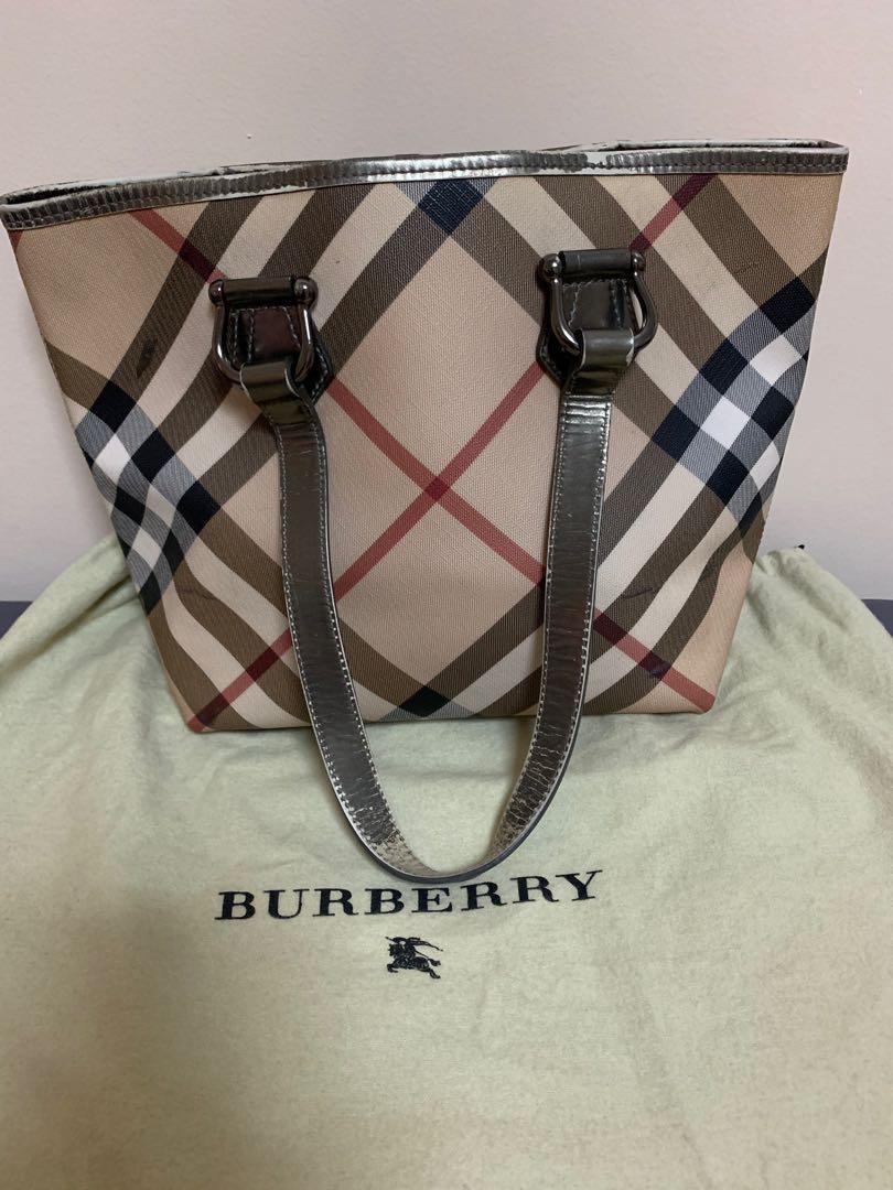 0a5d32e3004f PREL❤️VED BURBERRY VINTAGE TOTE BAG
