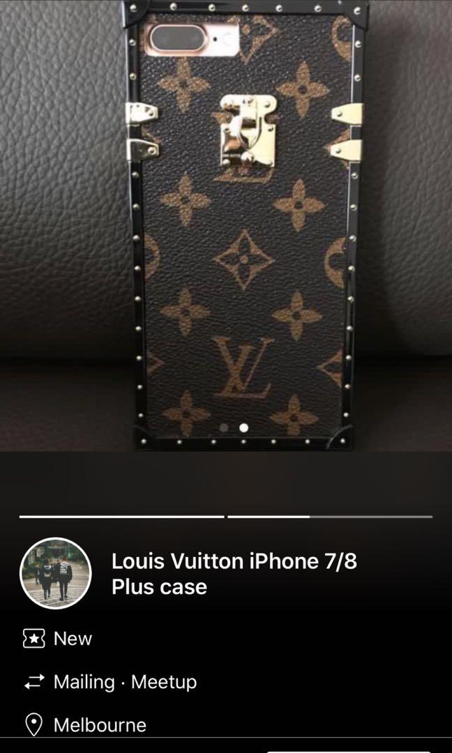 PRICE DROP! WANT IT GONE. LOUIS VUITTON IPHONE 7/8 PLUS CASE