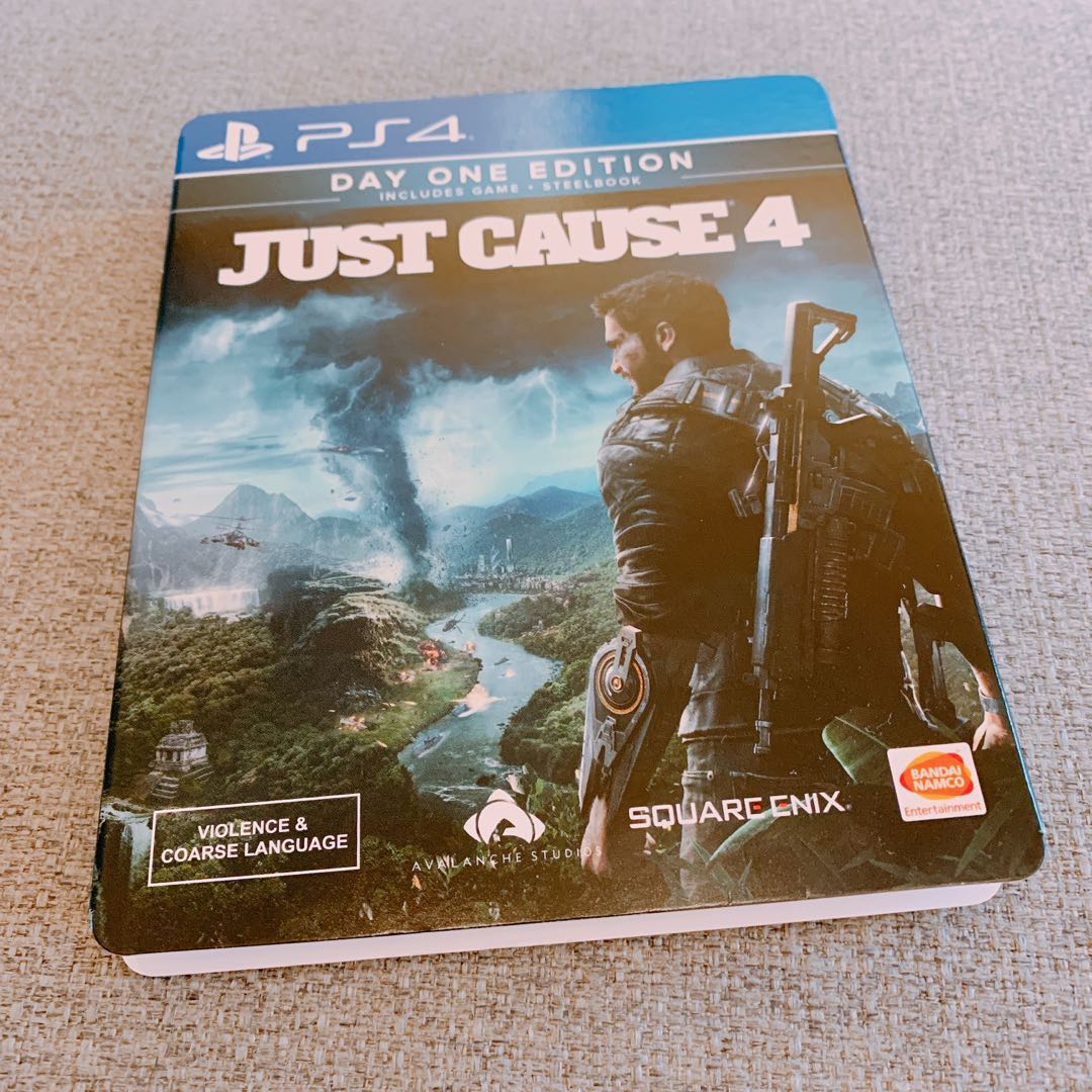 just cause 4 day one steelbook edition