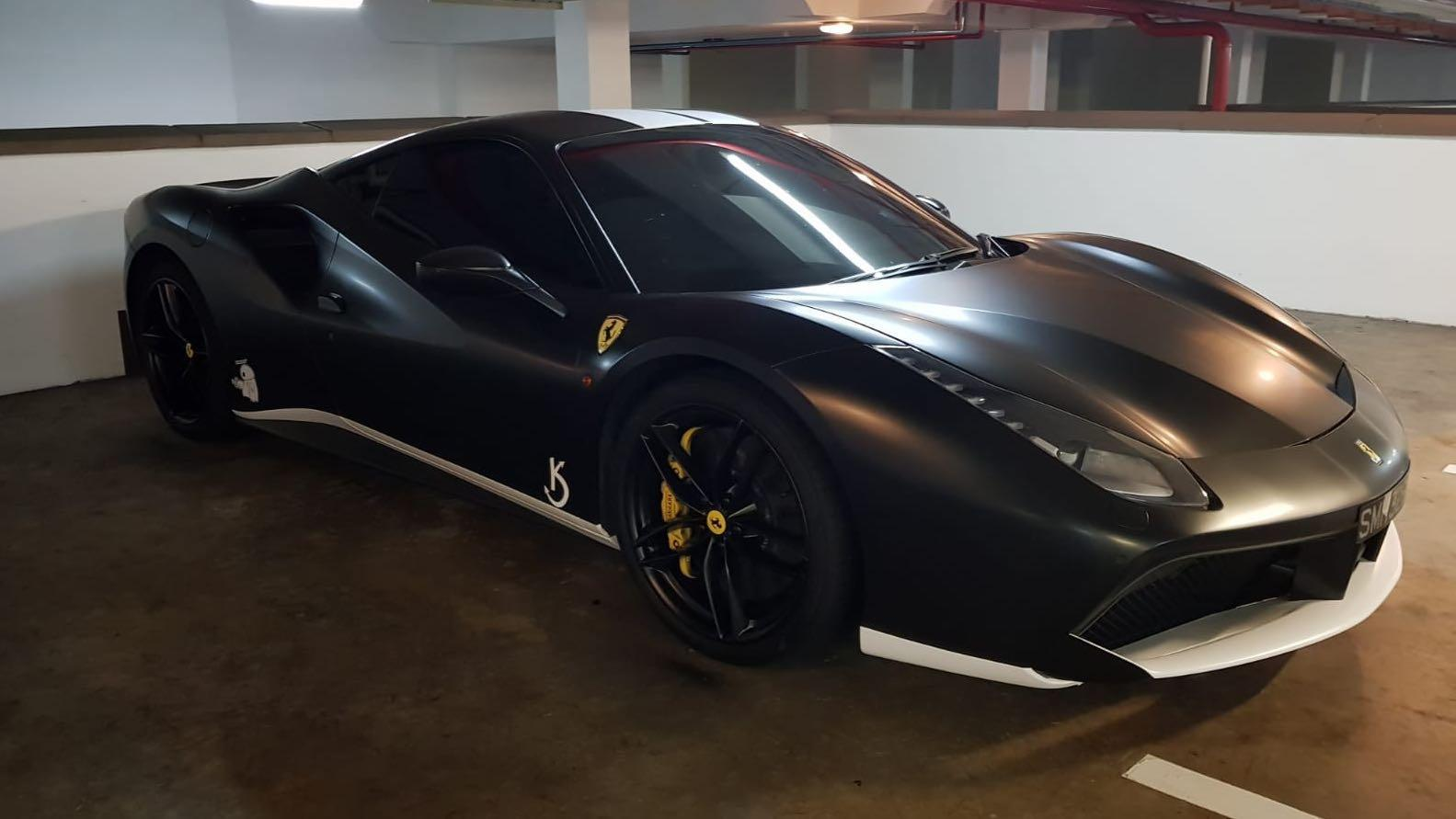 Rim Spray Epic Ferrari Milestone