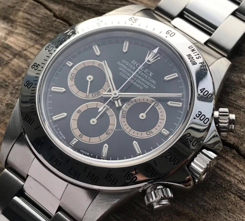 6facc3a189e Rolex Daytona 16520 black dial
