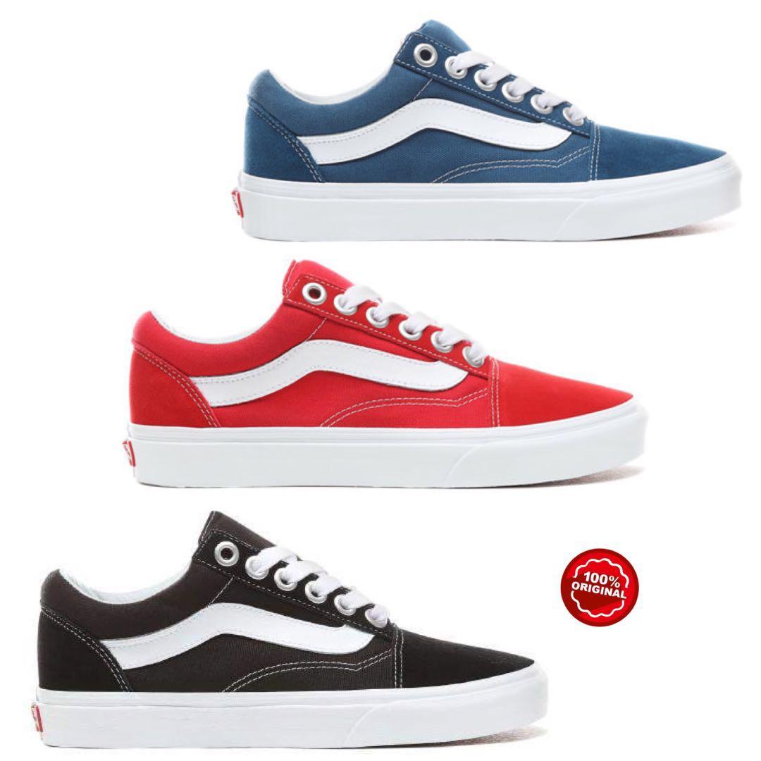 5adfe7570f Sepatu Vans Original - Old Skool OS Shoes