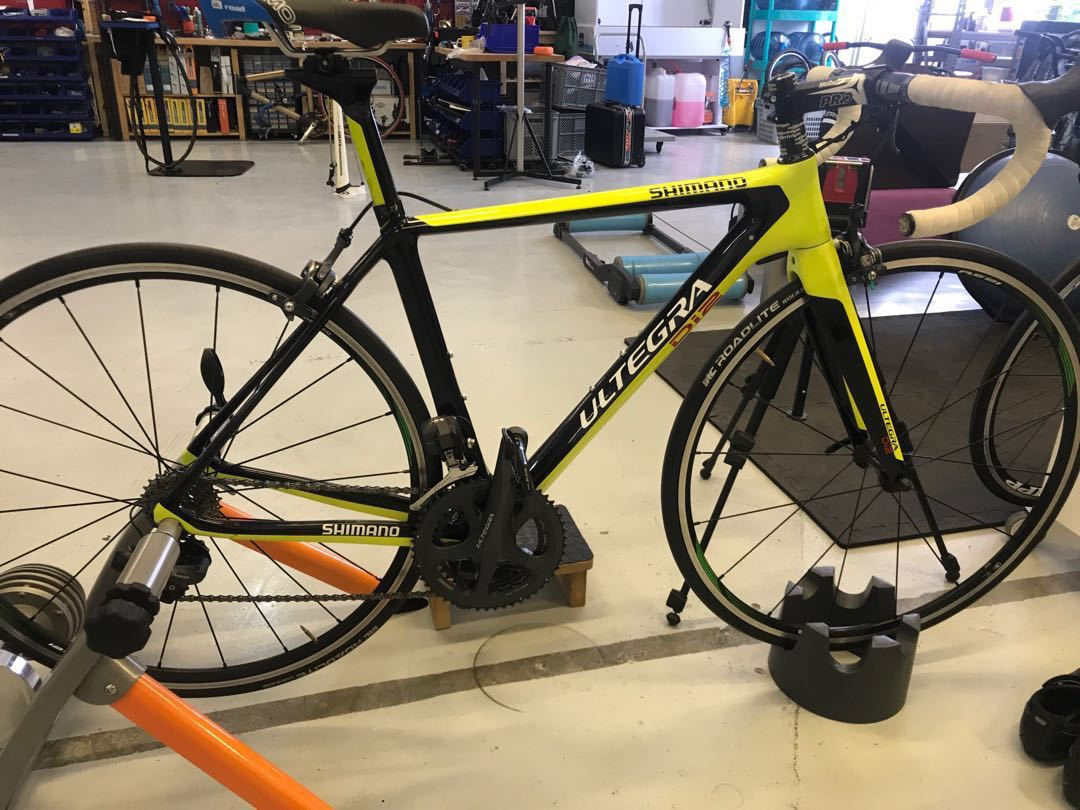 e64357376b3 Shimano Ultegra Di2 frame and fork, Bicycles & PMDs, Bicycles, Road ...