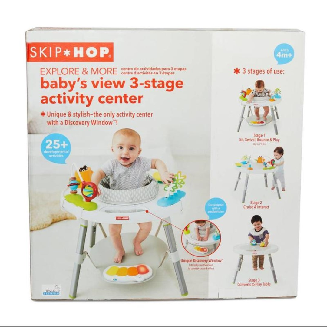 c619732b8 SKIP HOP Explore   More Baby s View 3-Stage Activity Center