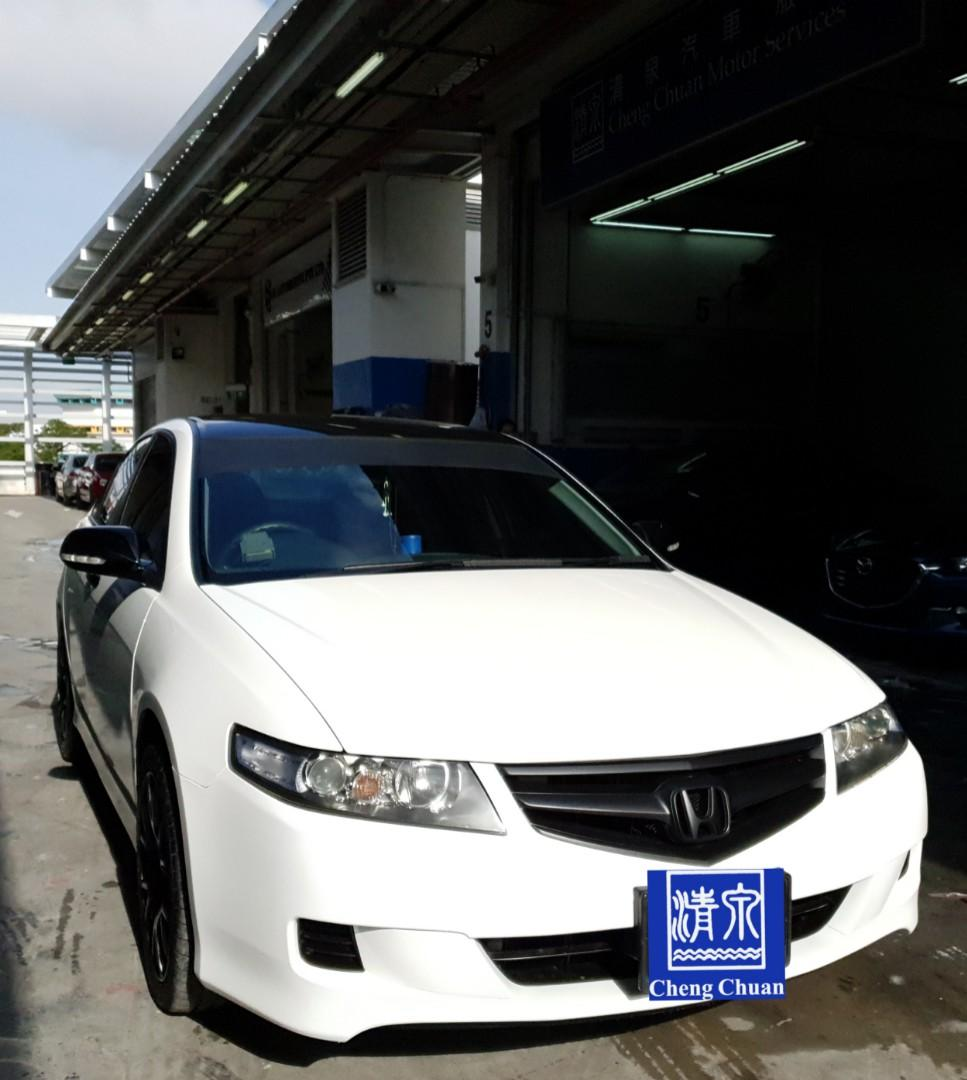 Spray Painting For Vehicle Honda Accord Change Color To