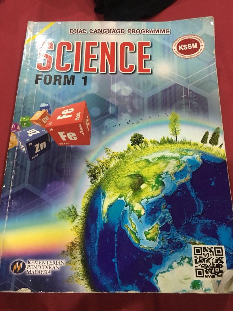 Textbook Science Form 1 Textbooks On Carousell