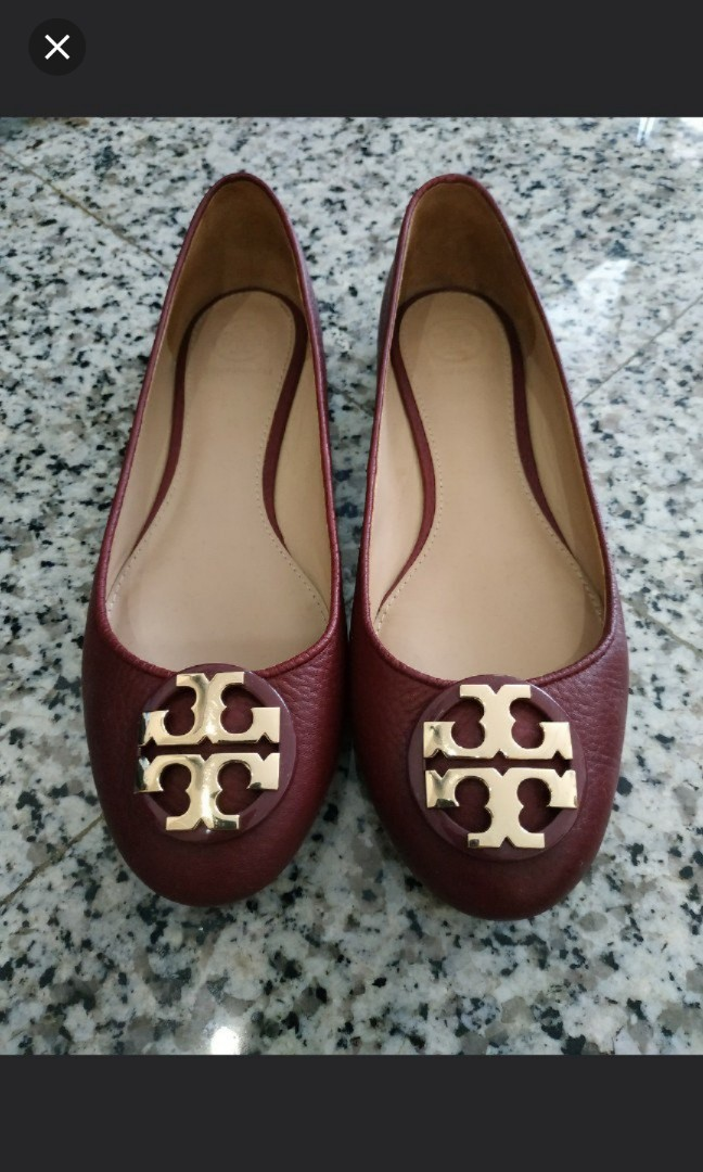 912f54fe6075 Tory Burch Flats Red