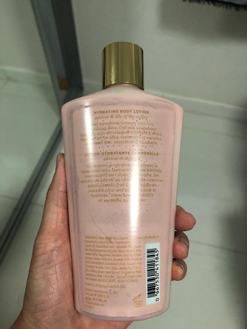 Victoria secret hydrating body lotion apricot and lily of the valley