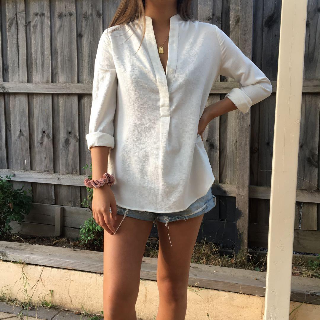 WHITE SEED HERITAGE BLOUSE